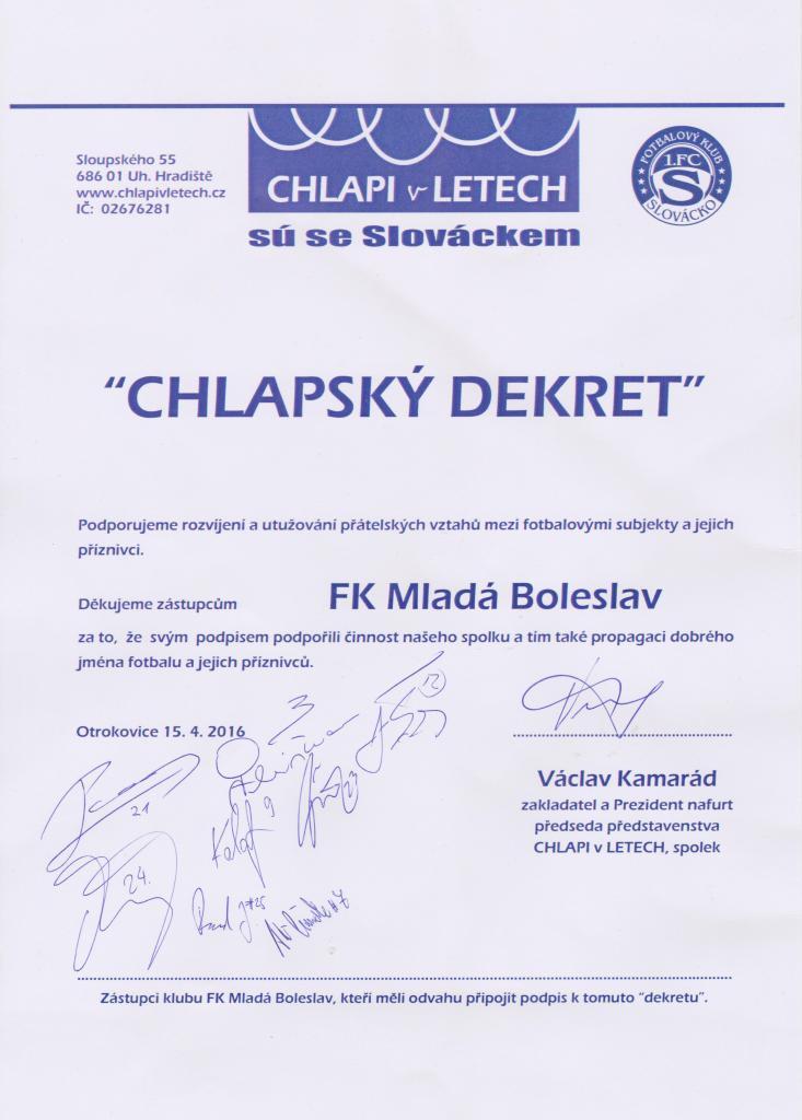 Dekret pro Boleslavské
